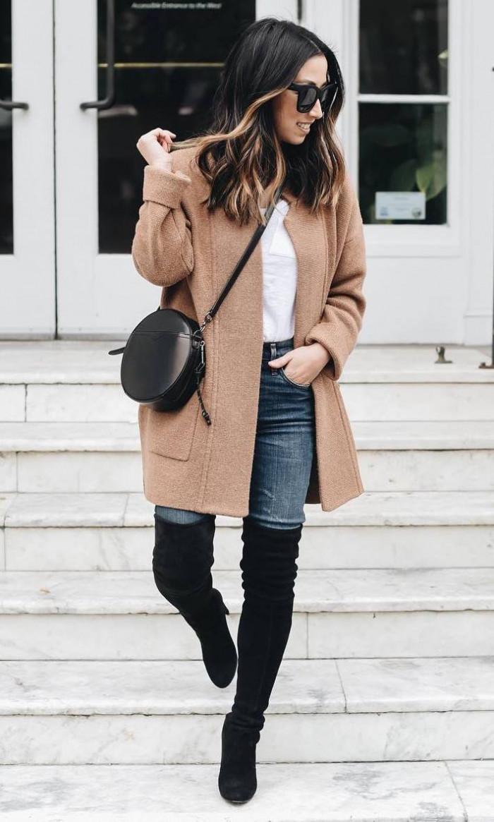 Это изображение имеет пустой атрибут alt; его имя файла - winter-trends-beige-coat-plus-white-top-plus-crossbody-bag-plus-jeans-plus-over-knee-boots.jpg