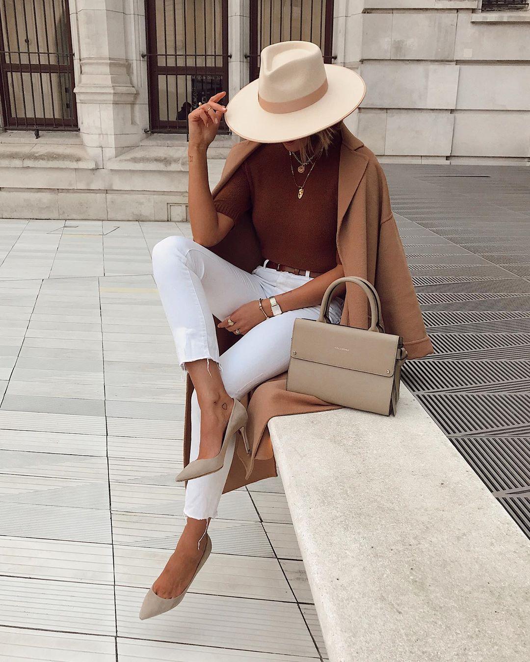 Элегантные образы от модного блогера Жюстин фото4