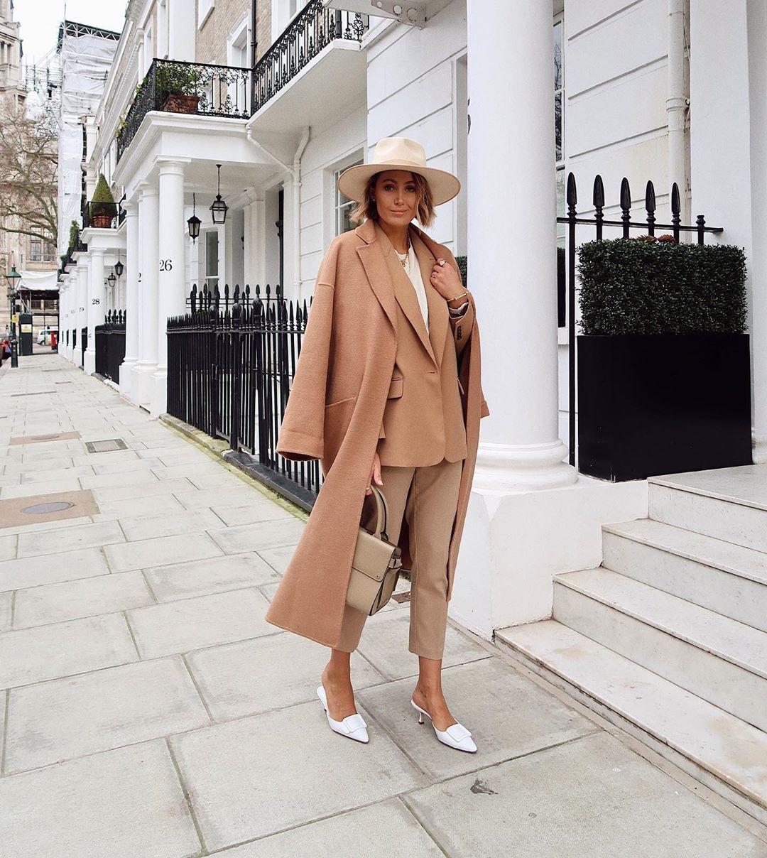 Элегантные образы от модного блогера Жюстин фото3
