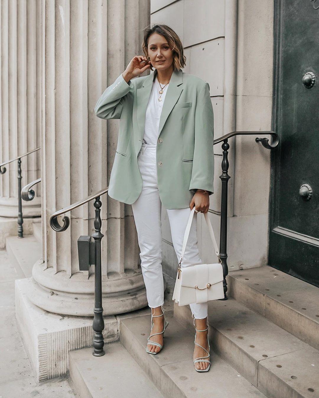Элегантные образы от модного блогера Жюстин фото7