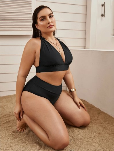 купальник для женщин plussize